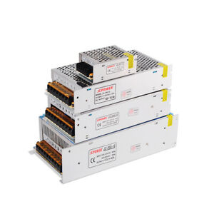 AC220V To DC 5V 12V 15V 18V 24V 36V 48V réglementée Alimentation à Découpage LED