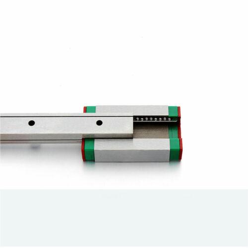 MGN12H Block DIY For CNC 3D Printer 12mm Miniature Linear Slide Rail Guide