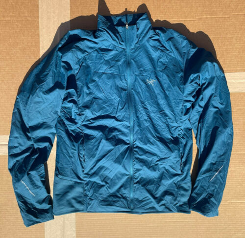 Arcteryx Argus Jacket Mens Medium - Blue **REPAIRE