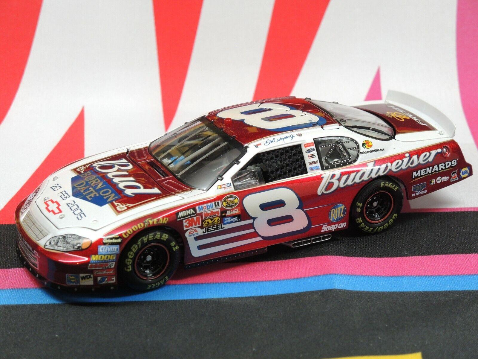 Dale Earnhardt Jr  8 Budweiser Daytona nacido en fecha 20 de febrero de 2005 1 24 Elite