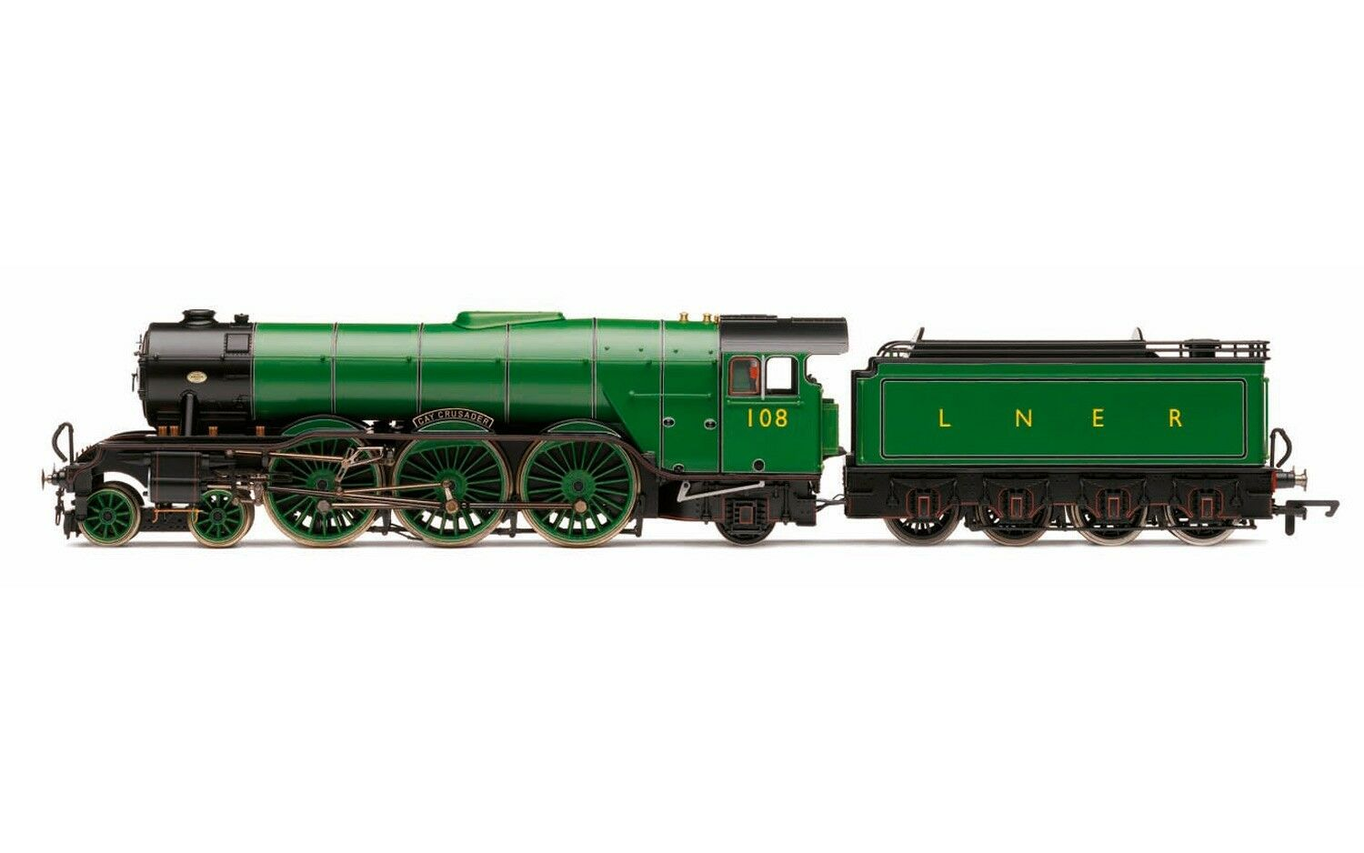 Hornby Hornby Hornby R3518, The Final Day Collection - LNER 4-6-2 'Gay Crusader' A3 classe Ltd cd3257