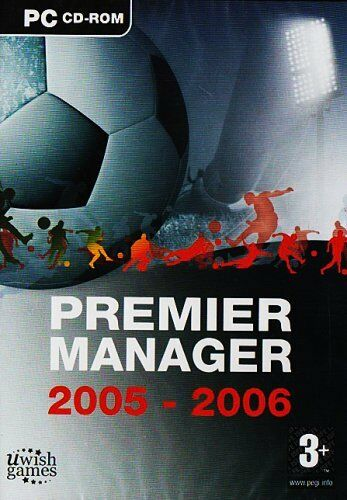 Premier Manager 2005-2006 (PC CD) by U Wish Games. New/sealed