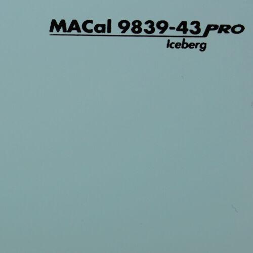 13,95 € //m Plotterfolie eisberg glänzend Selbstklebefolie 61,5 cm 1 m