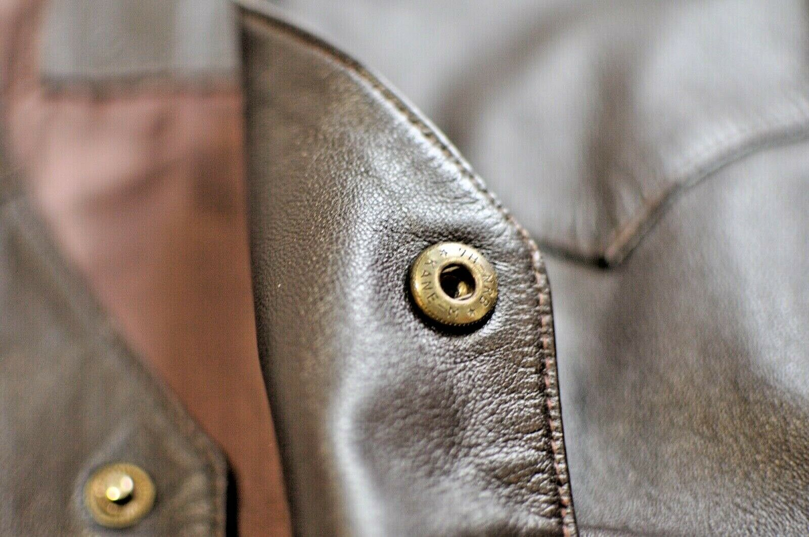 Etruscan Designs Mens leather vest Größe 3xl