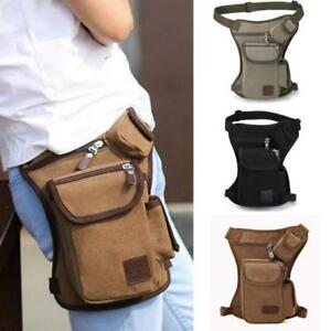 Men-Hip-Bum-Belt-Fanny-Pack-Motorcycle-Rider-Travel-Thigh-Drop-Waist-Leg-Bag-S