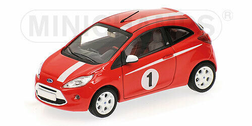 Ford Ka 2009 rojo Minichamps 1 43 400088201 Miniature