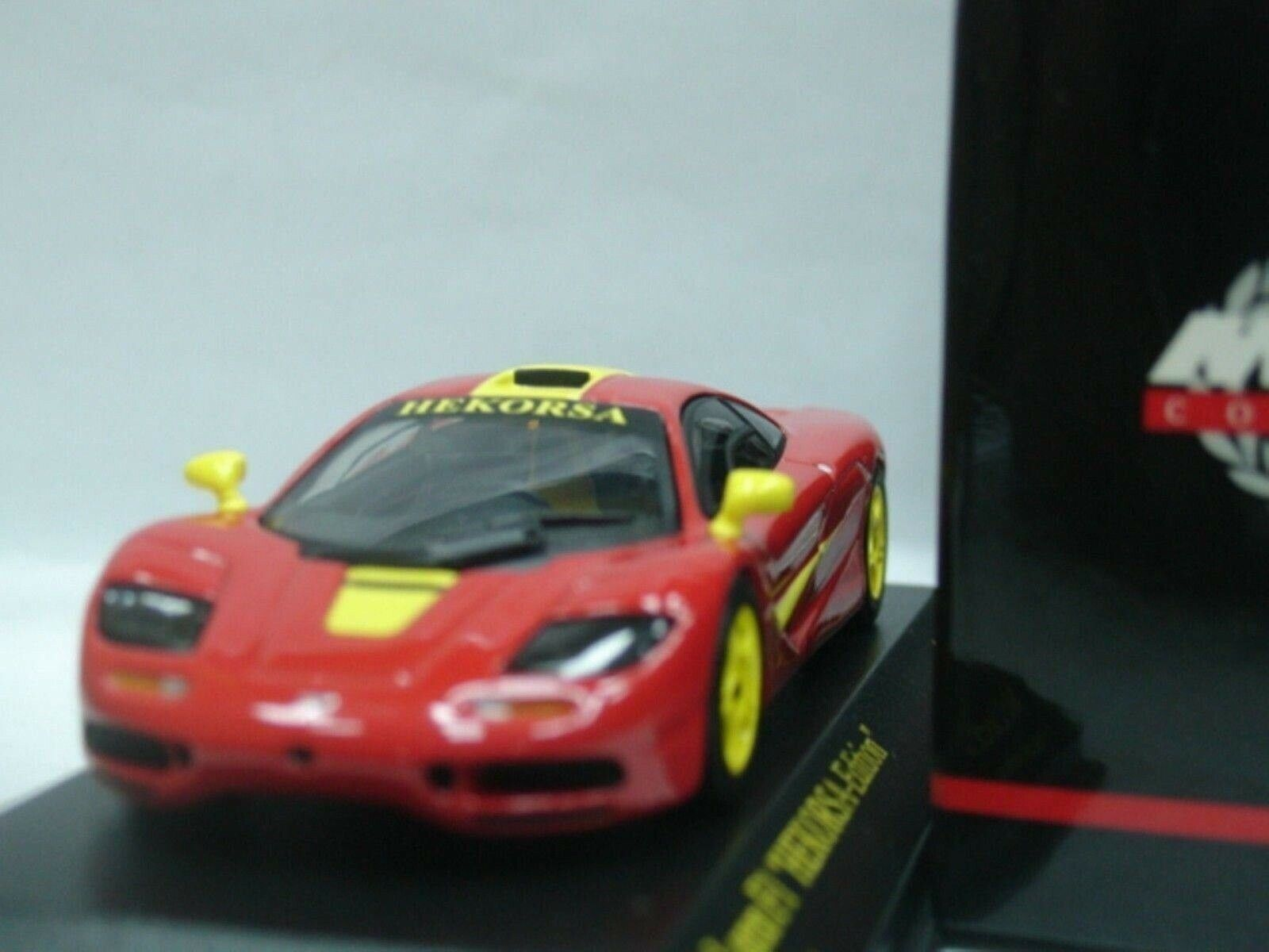 WOW  EXTREMELY RARE McLaren BMW F1 GTR SWB rouge jaune Ltd 999 1 43 Minichamps-GT  nouveau sadie