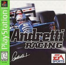 PS1 Game - Andretti Racing (Sony PlayStation 1, 1996) - Disc Only - Free Ship