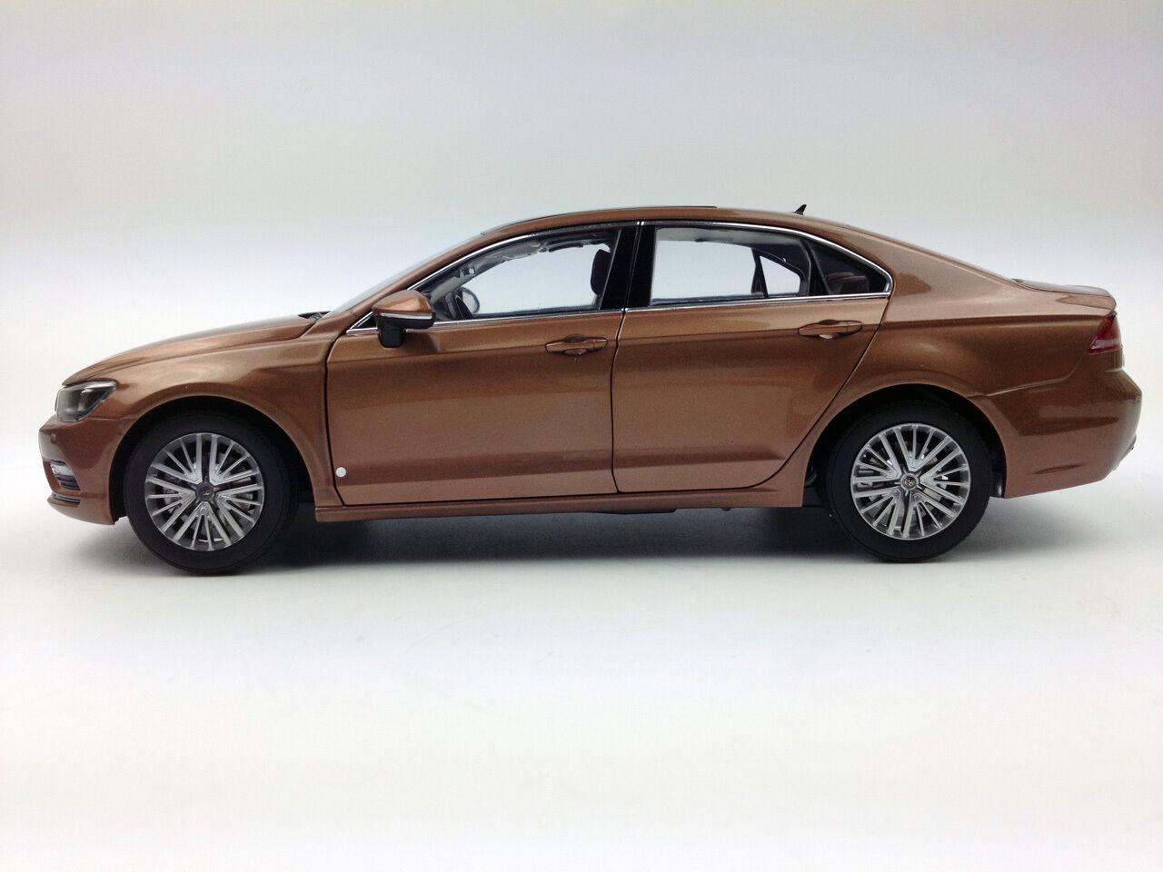 1 18 Volkswagen Lamando Brown Brown Brown Diecast Metal Model 7377db
