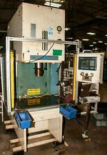 75 Ton Neff Hydraulic Press 31 X 23 Throat 10 Cylinder Diameter 8 1997