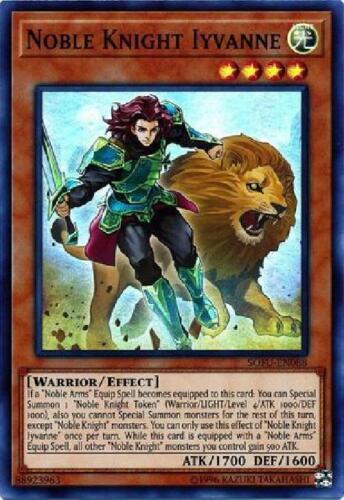 Super Rare Unlimited New Soul Fusion SOFU-EN088 4x Noble Knight Ivyanne