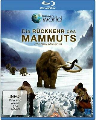 2 Top Dokus / 2 Blu Ray * Die Rückkehr Des Mammuts + Wildes Deutschland Neu/ovp