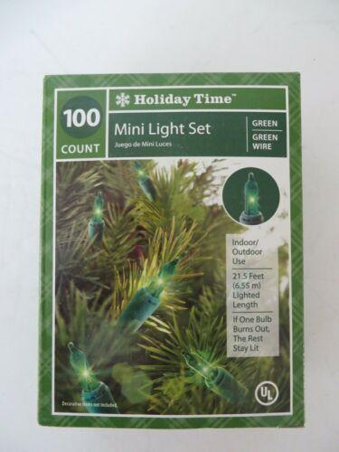 HOLIDAY TIME 100 MINI LIGHT SET