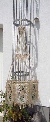 Ca. 120 Jahre Alte Deckenlampe Hängelampe Glas Einfach Und Leicht Zu Handhaben