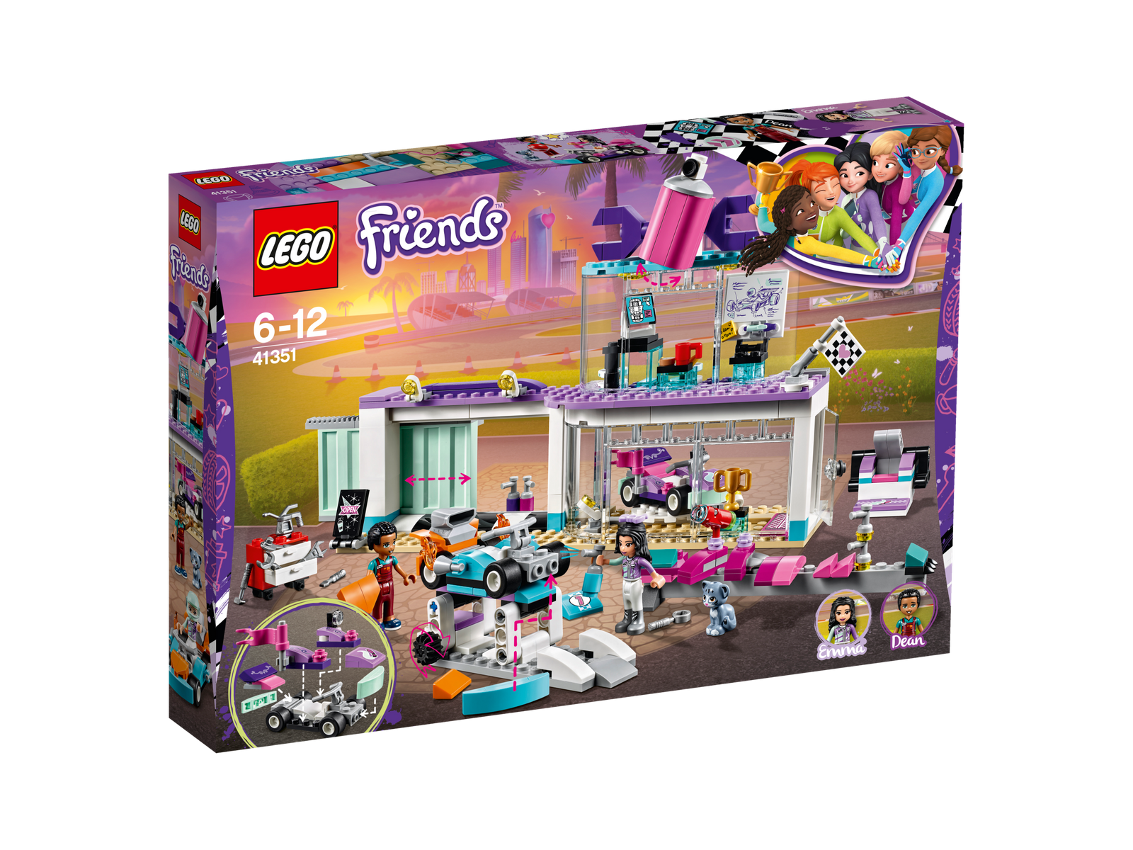 LEGO ® Friends 41351 TUNING OFFICINA NUOVO OVP _ Creative TUNING SHOP NEW MISB NRFB