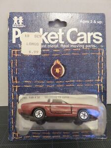 Details about Tomy Tomica Pocket Cars Mustang 11 Ghia F38 Brown/White H/T  Die-Cast Metal Japan