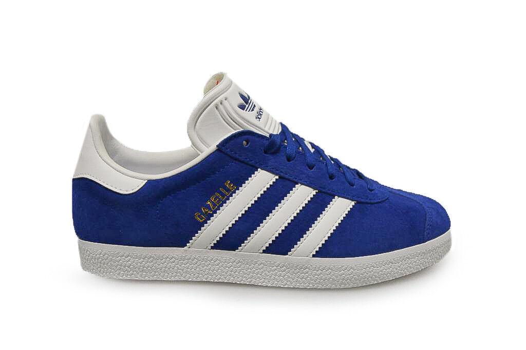 Unisex Adidas Gazellen Turnschuhe S76227 Blau Weiß