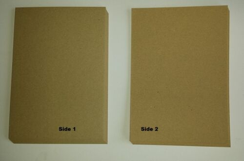 Invitations Weddings A4 Natural 100/% Recycled Brown Kraft Craft Card 280gsm