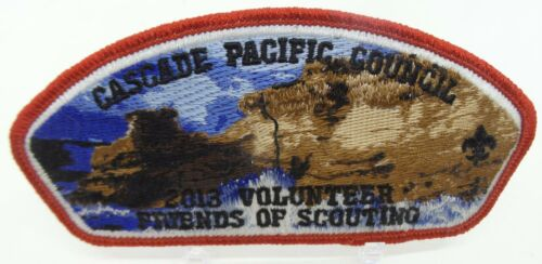 Cascade Pacific Council Friends of Scouting 2013 CSP Scout Patch BSA
