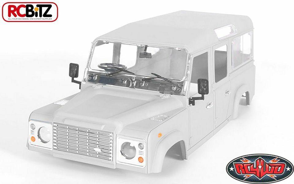 RC4WD 1 10 Defender D110 Hard Plastic Body Kit Land Rover Gelande 2 II Z-B0064