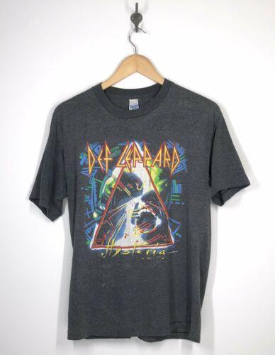 Def Leopard - Hysteria Tour T Shirt - 1987