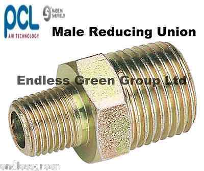 1//4 3//8 1//2 BSP Airline Fittings Air Compressor Reducing PCL Unions /& Reducers