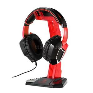 SADES Gaming Headphone Stand Earphone Display Rack Headset Hanger Holder Bracket