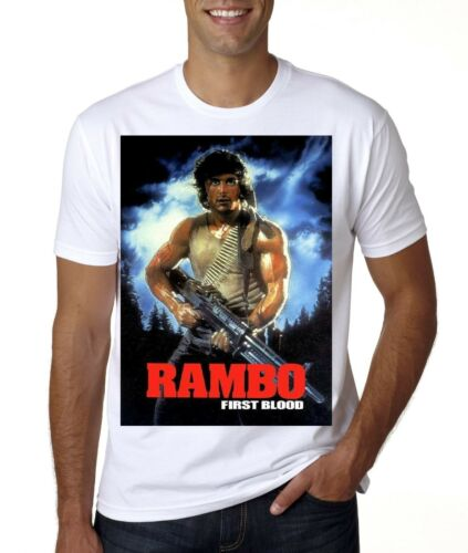 New RAMBO FIRST BLOOD  T-SHIRT
