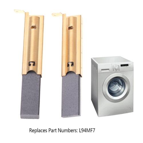 2Pcs//set Washing Machine Motor Carbon Inserts Brushes L94MF7 For Siemens 5x13.5