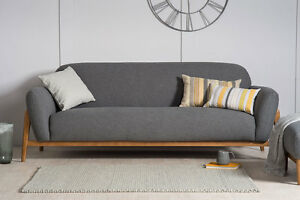 Maddox Scandinavian Design Modern Contemporary Sofa Set