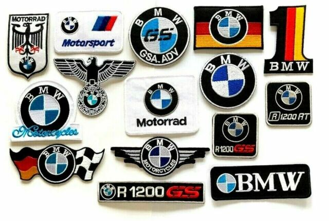 M .A. Yamaha Sew-On Patch 4 x 13 CM Motorcycle Biker DIY Applique Embroidered Sew Iron on Patch Sold By R