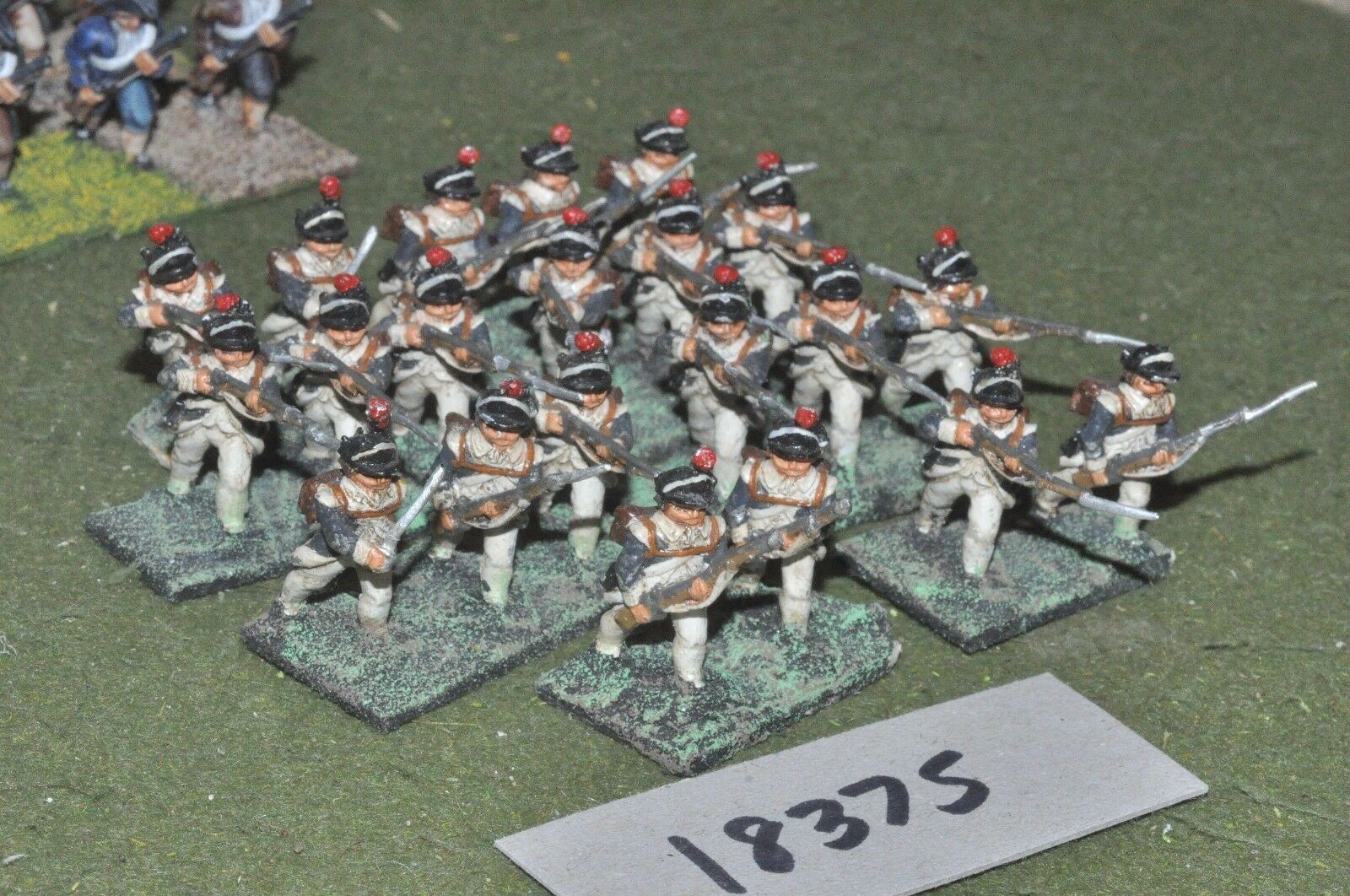 25mm AWI   american - infantry 21 figs - inf (18375)