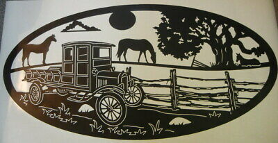 Howling Desert Coyote RV Decal Travel Truck Camper RV Motor home Trailer Nature