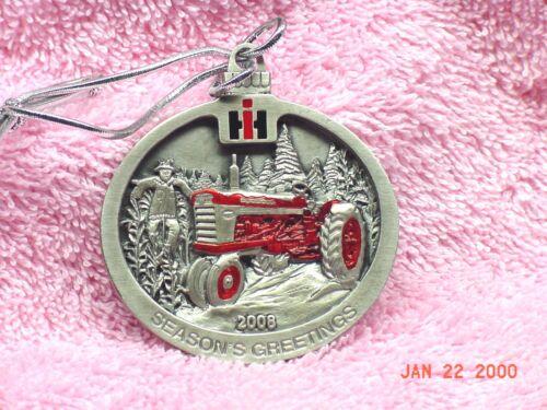 International Harvester 2008 Painted Pewter Christmas