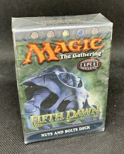 MTG-Magic-The-Gathering-Fifth-Dawn-Nuts-And-Bolts-Factory-Sealed-Deck-QTY