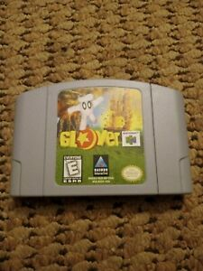 Glover (N64, Nintendo 64) cartucho sólo 1998 Video Juegos