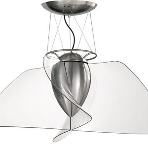 Image Is Loading Quorum Angel Contemporary Ceiling Fan With Clear Blades