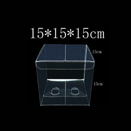 10pcs//set PVC Boxes Favor Candy Packing 12x12x12cm Box Transparent Boxes 8x8x8cm