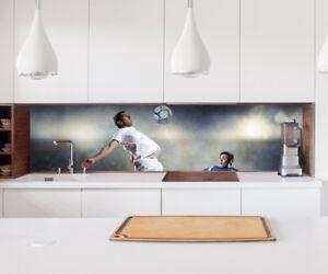 Adesivo cucina parete gioco calcio palla sport lamina piastrelle