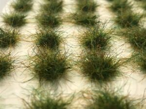 Premium extra long Static Grass Tufts Self-Adhesive winter grass 10mm //5mm