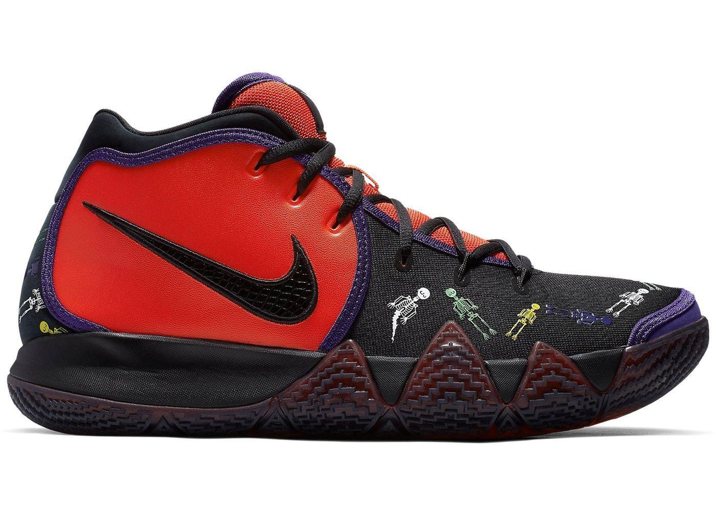 Nike Nike Nike Kyrie 4 DOTD size 12.5 Day of the Dead. Black Purple .Halloween. CI0278-800 0da9eb