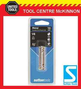 SUTTON-No-30-DOUBLE-ENDED-TUPOINT-DRILL-BIT-FOR-1-8-RIVETS-10-PACK-20-TIPS