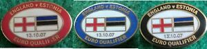 England-v-Estonia-Euro-2008-Qualifier-13-October-2007-Oval-Match-Badge