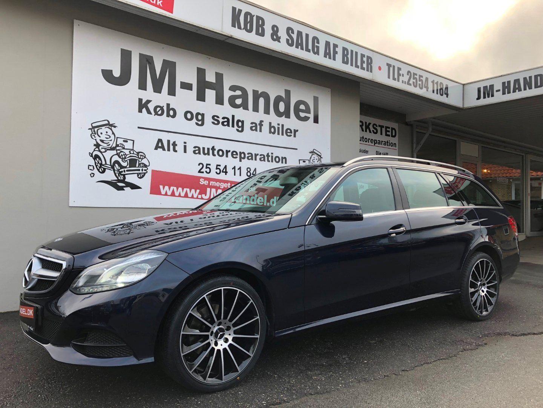 Mercedes E200 2,2 BlueTEC Elegance stc. aut. 5d - 259.900 kr.