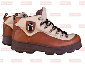 Details about Fila Hiking Boots Vintage Fila Boots 90's Streetwear Boots Rare Fila shoes