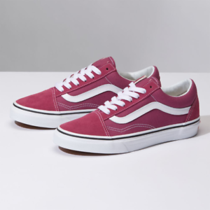 fd88ffce32bbf5 Vans Old Skool Dry Rose True White Classic Canvas Suede Fast ...