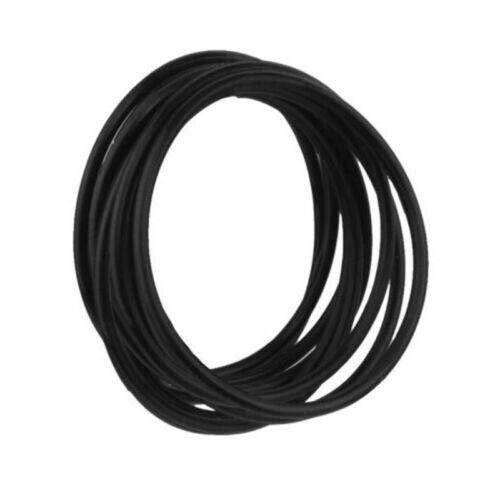 20Pcs Silicone Coloré Élastique Caoutchouc Bracelet Bracelets Hair Ties bandes corde