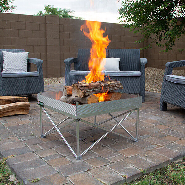 Reconditioned Portable Fire Pits For Camping Backyard Beach Or
