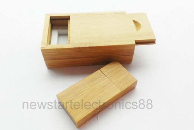 Banboo Wood USB Flash Drive Thumb Stick 1GB 2G 4G 8G 16GB with Wood Gift Case