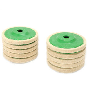 Abrasive Polishing Wheel 4 Inch Wool Felt Polishing Wheel Angle Grinder Disc For Rotary Tool 1 Pc At Any Cost Tools
